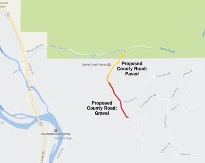 Squaw Creek Road