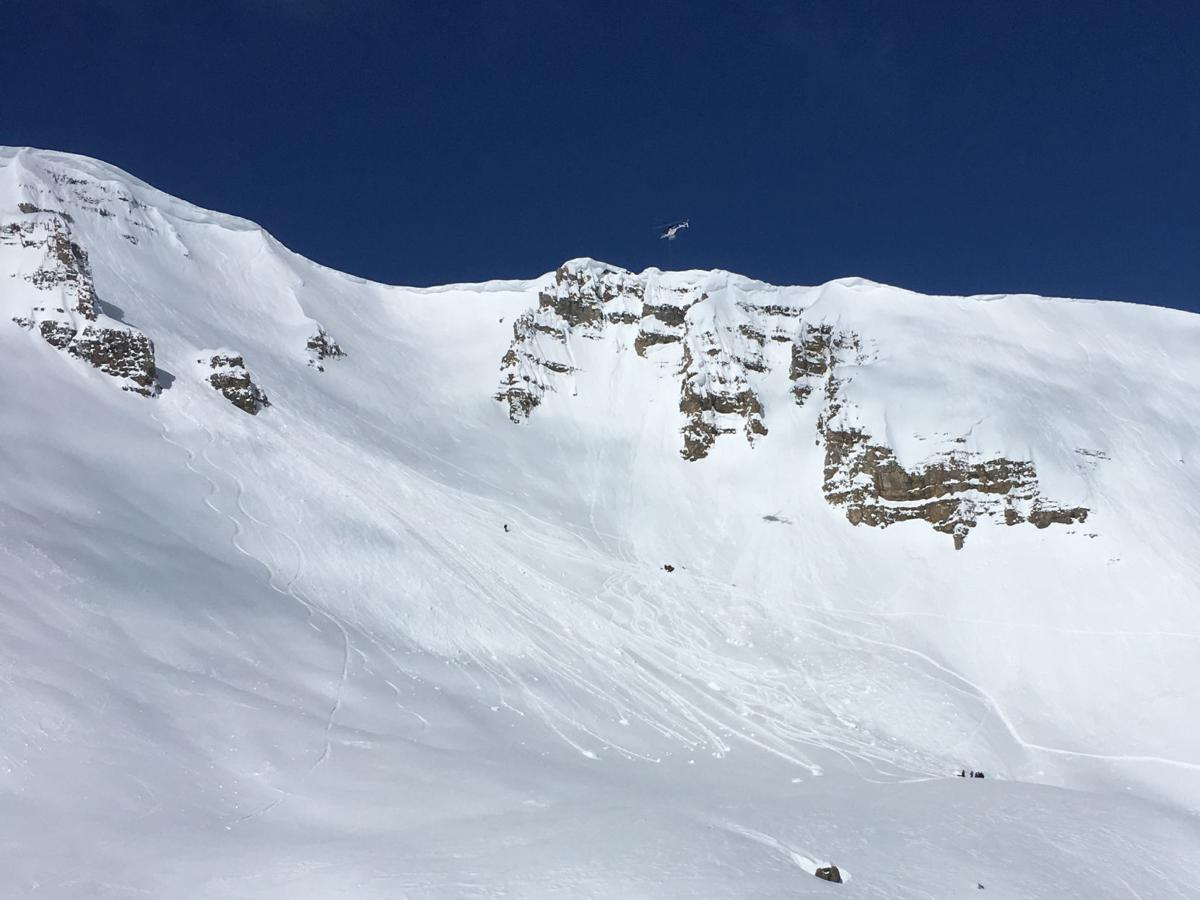 Skier is in critical shape after cornice collapses | Cops