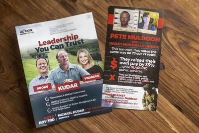 Turning Point Action political mailer