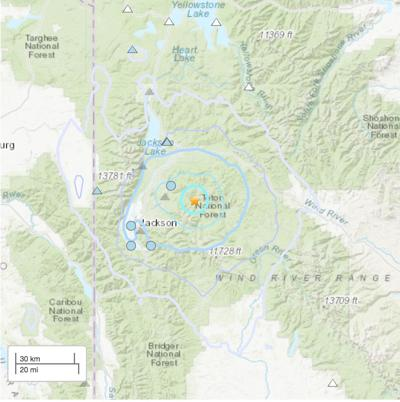 Quake east of Kelly