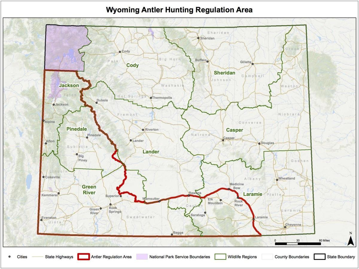 Wyoming antler hunting closures go into effect on Jan. 1