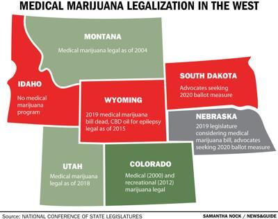 Medical Marijuana Legalization in the West