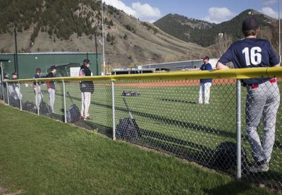 Baseball practice is back for now, but with some restrictions