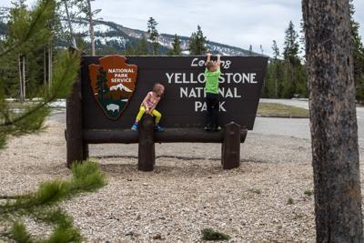 Yellowstone South Gate