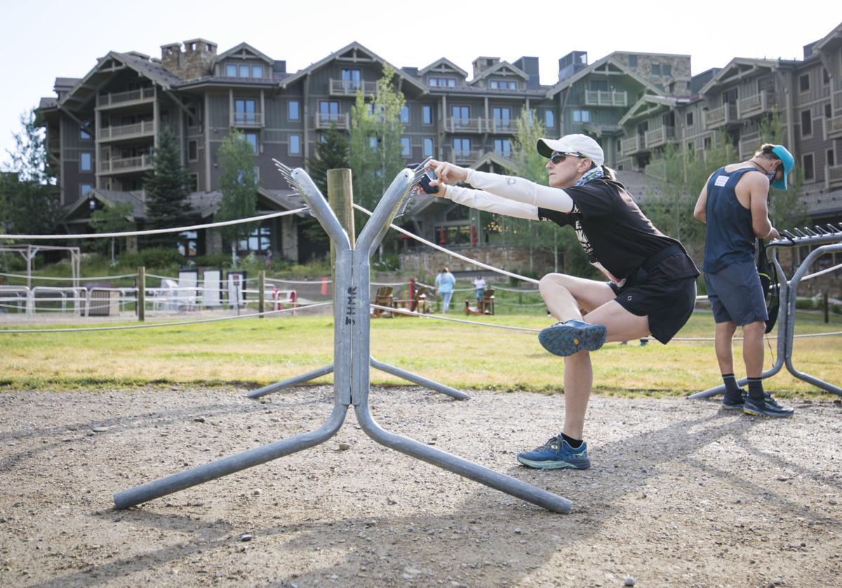 Athletes take on new Rendezvous Mountain Hillclimb route