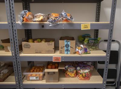 Munger Elementary School food pantry