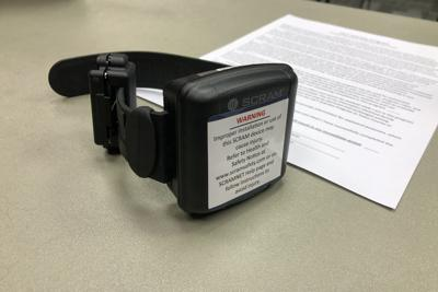 Ankle alcohol monitor