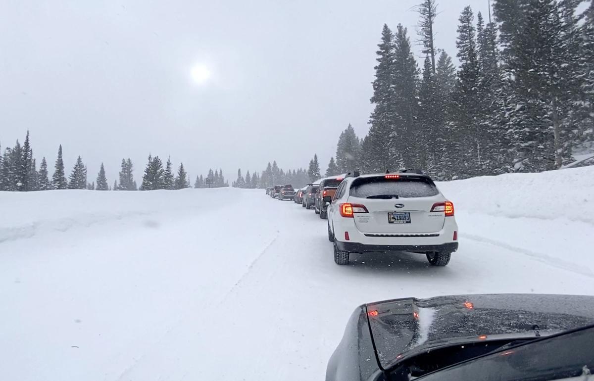 Teton Pass traffic