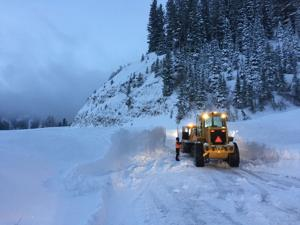 Friday storm closes Teton Pass