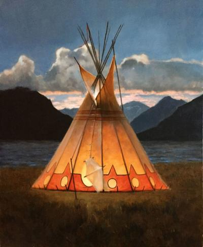 Mark Gibson at Mountain Trails Gallery