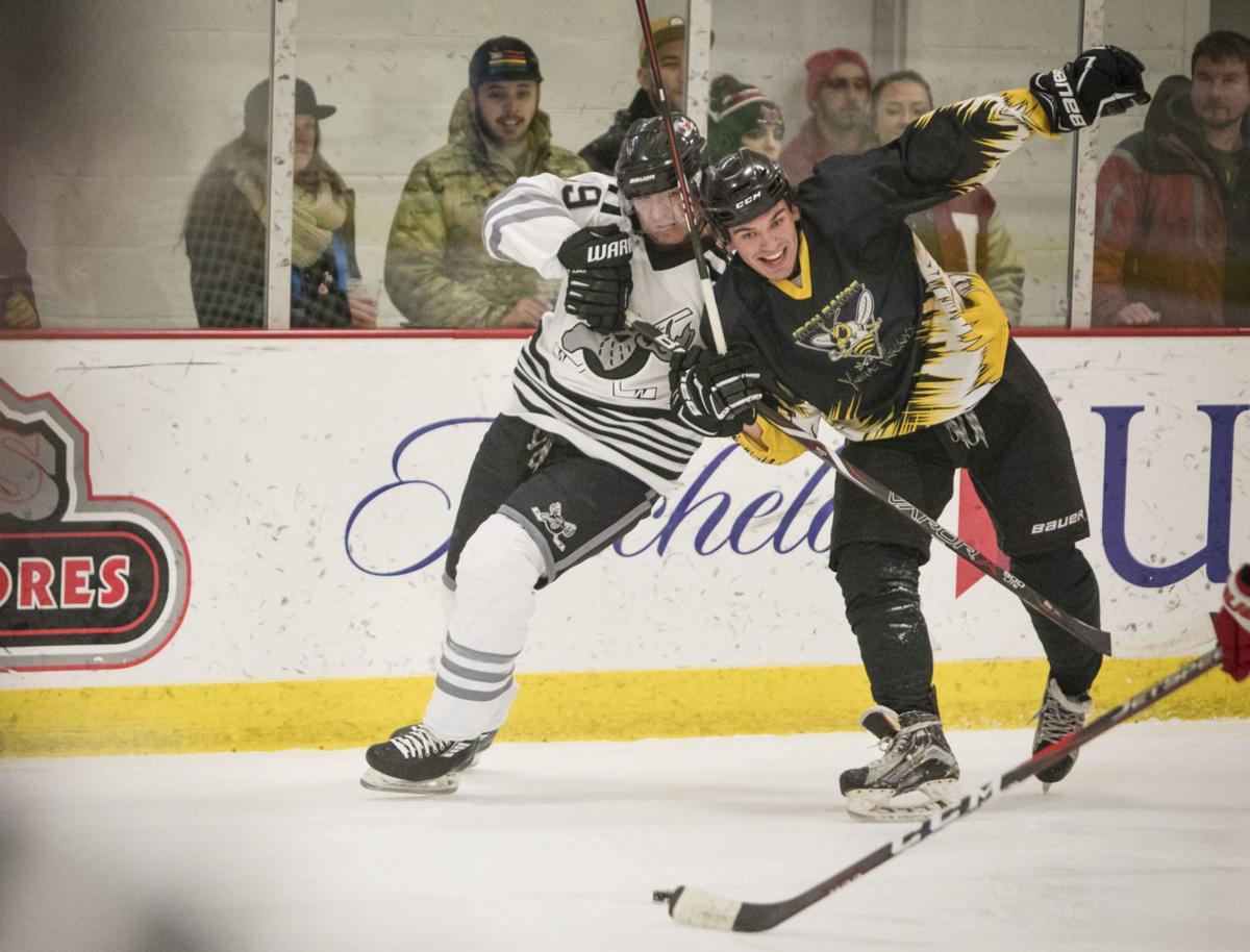 Moose vs. Boulder hockey