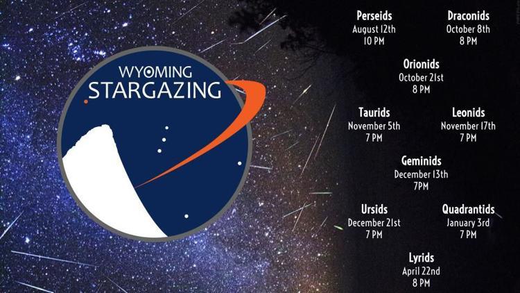 Wyoming Stargazing Meteor Shower Dates