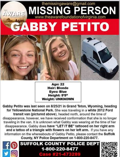 Missing Person - Gabby Petito