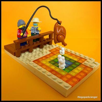 LEGO Yellowstone turkey