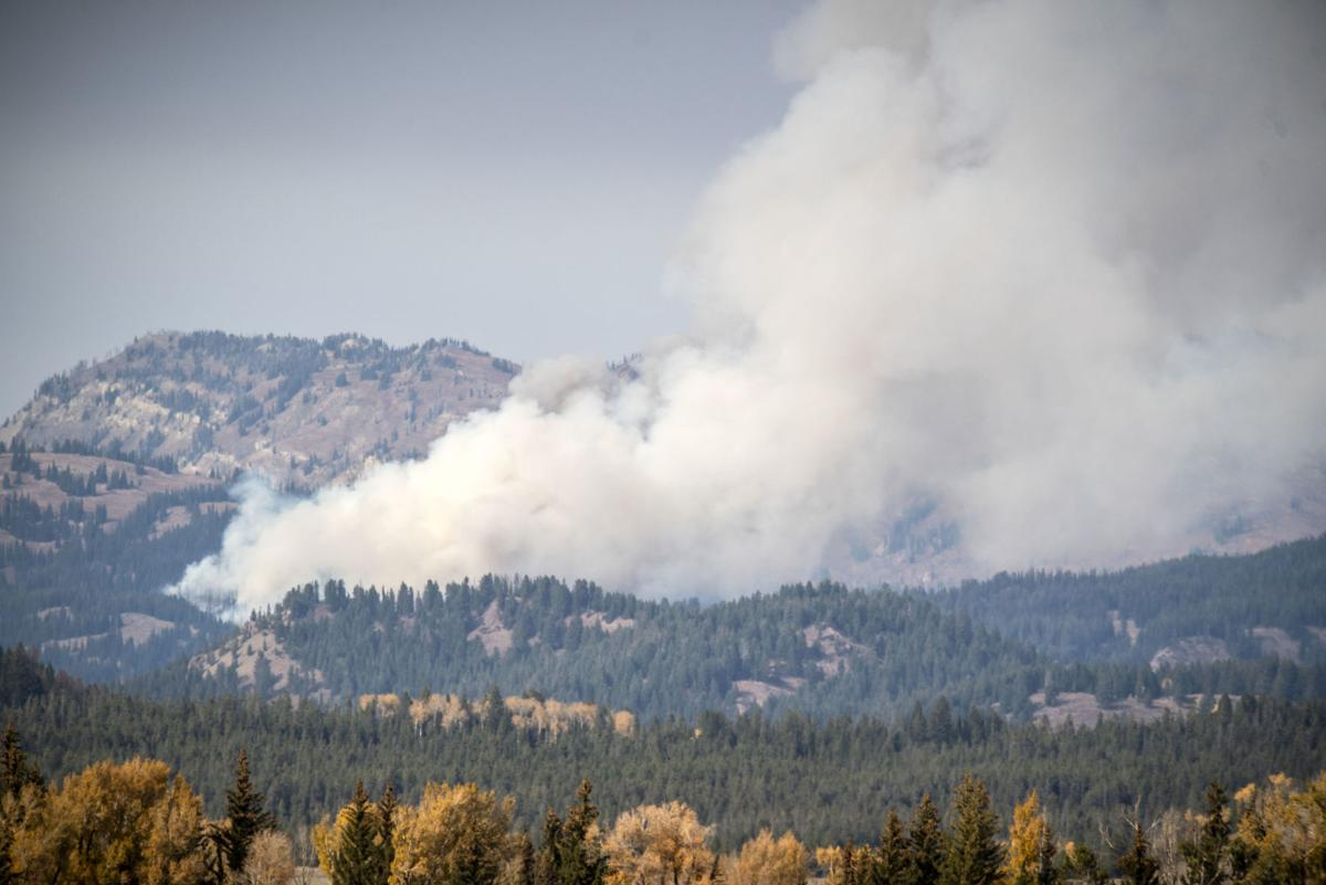 Pilgrim Creek fire