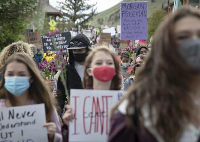 Protests and COVID cases