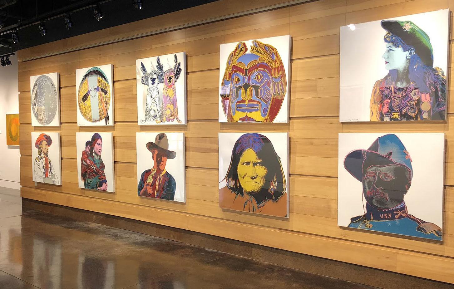 Andy Warholu0027s u201cCowboys and Indiansu201d series contrasts