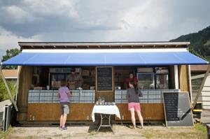 Slow Food open for business at farm stand