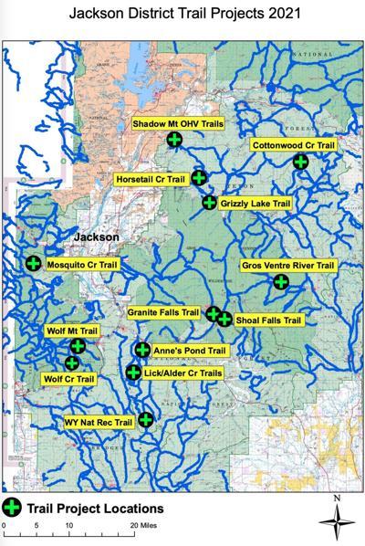 B-TNF summer 2021 trail projects