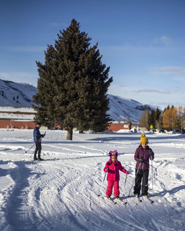After-school Nordic ski program