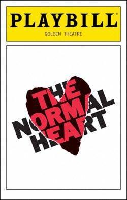 Normal heart playbill