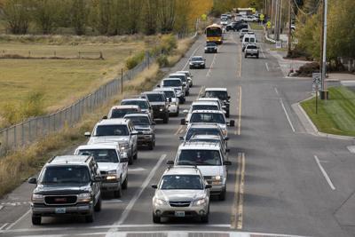 High School Road traffic