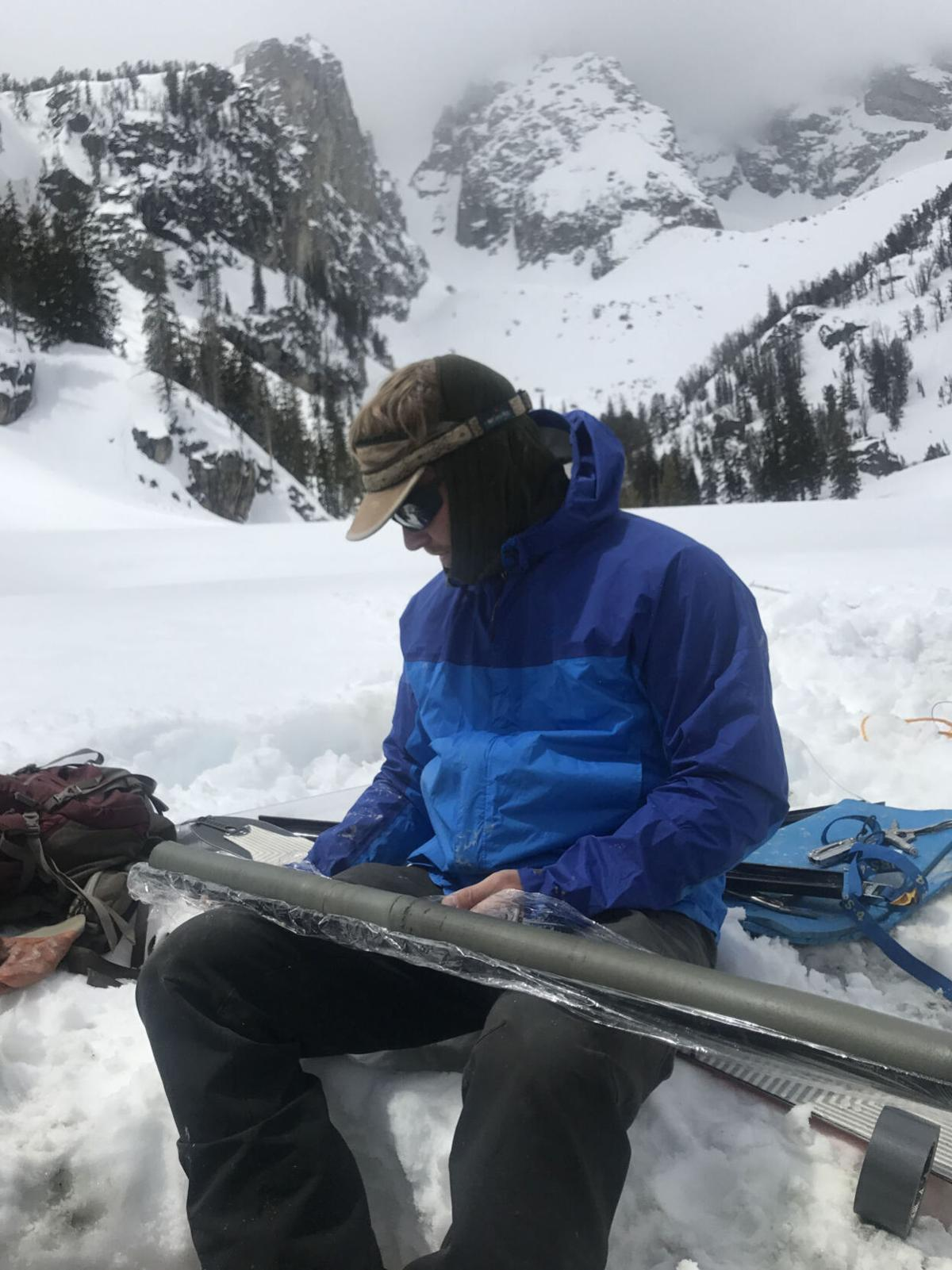 Grand Teton glacial study