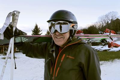 Skiing Helmet Safety