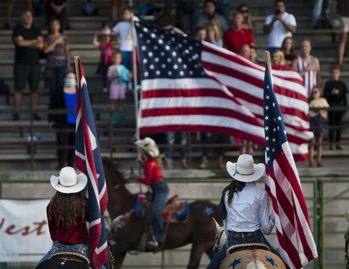 Rodeo celebrates Fourth of July