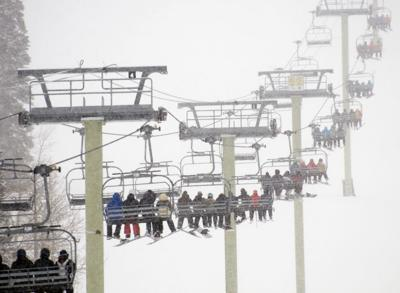 Grand Targhee chairlifts