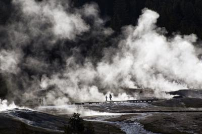 Yellowstone thermal accident