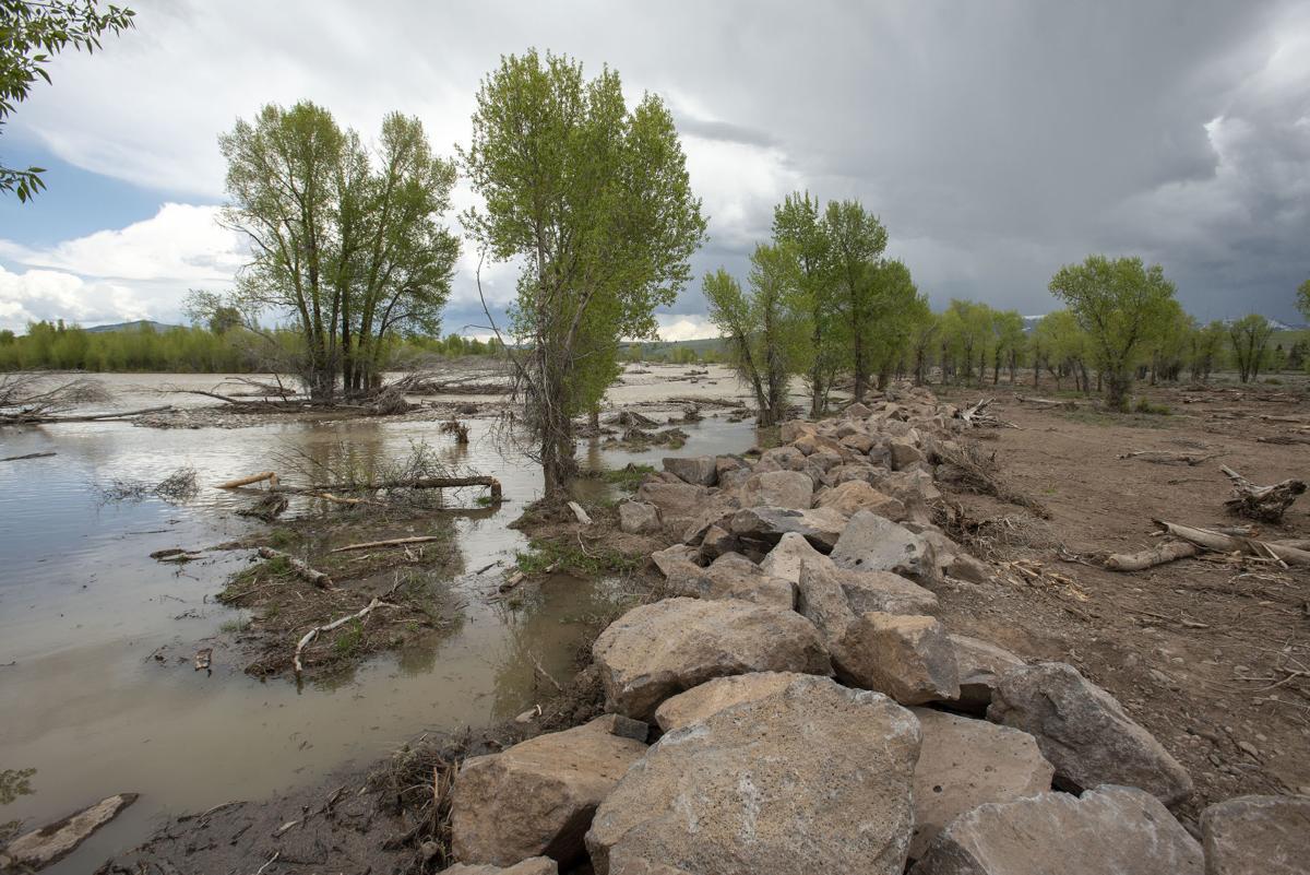 Gros Ventre flood mitigation