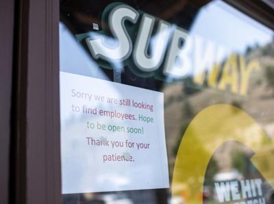 Subway staff shortage