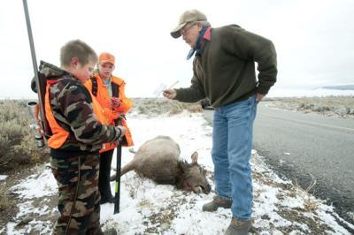 Grand Teton elk hunt