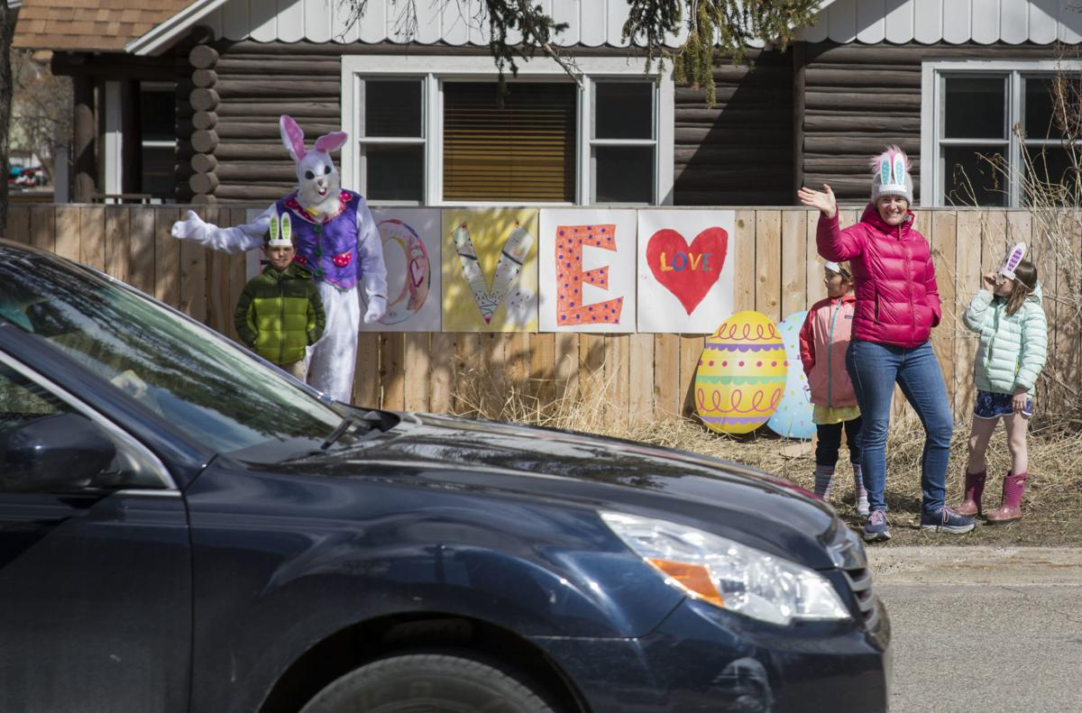 """St. John's Episcopal Church celebrates Easter Sunday with a """"Love Hunt"""" around town"""