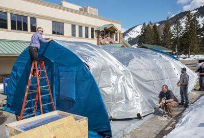 COVID-19 tent