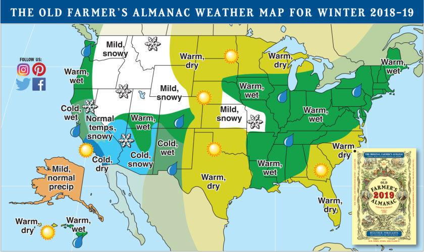 Cooler Nights Mean Its Time To Talk Snow Mountain Weather - Us-weather-map-temps
