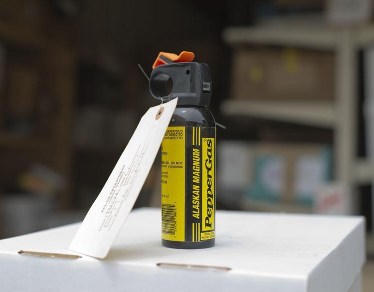 american bear spray repellent can