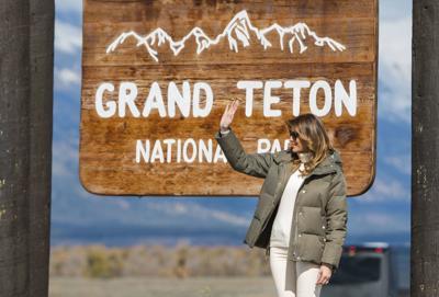 FLOTUS in Grand Teton National Park