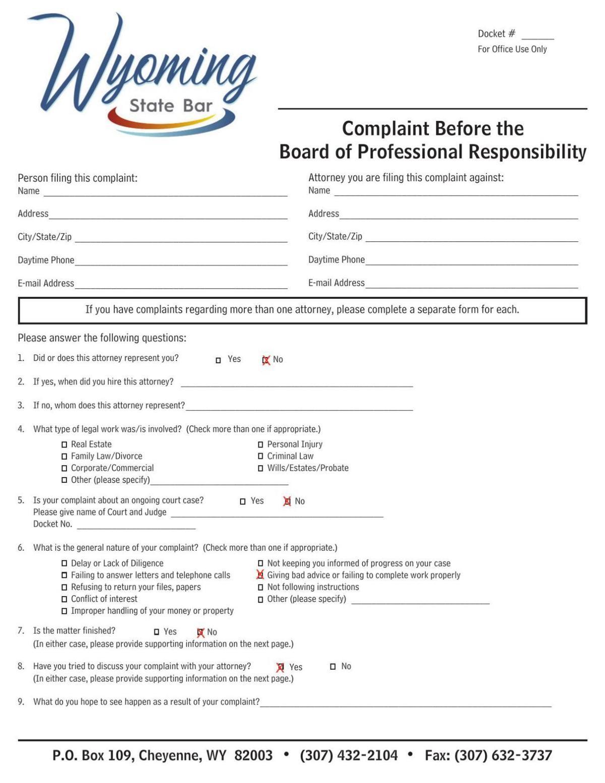 Muldoon Ethics Complaint