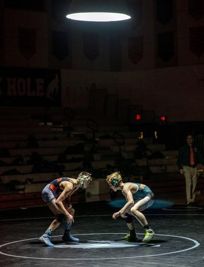 JHHS wrestling vs. Pinedale