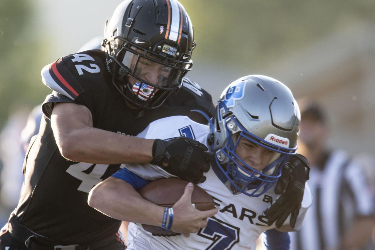 Jackson vs. Bear Lake football