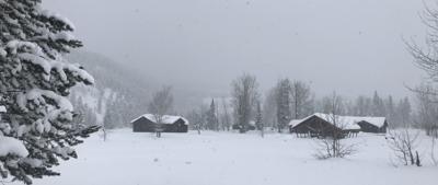 Winter wonderland in Grand Teton National Park