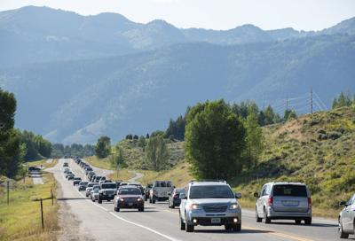 Traffic on Highway 22