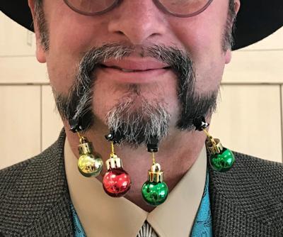 Adrian Bernal, best mustache award