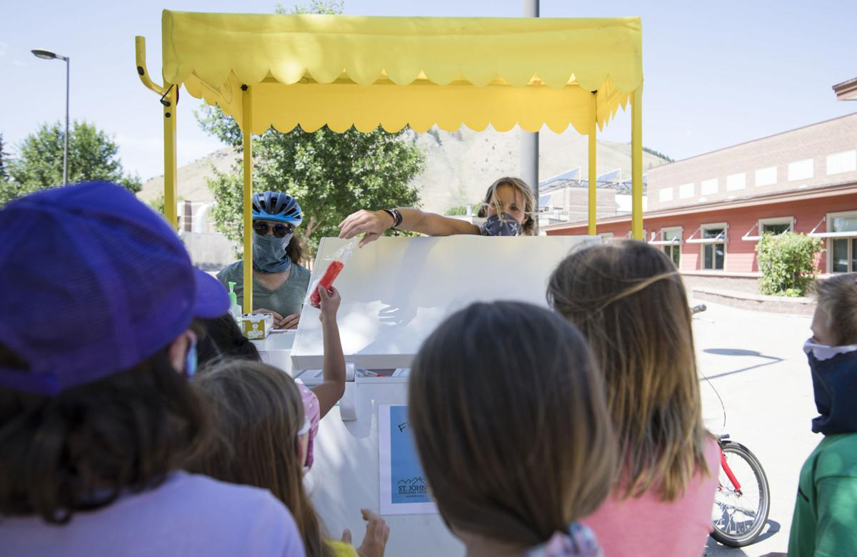 Free ice cream e-bike spreads joy around Jackson
