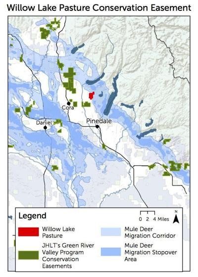 Willow Lake conservation easement