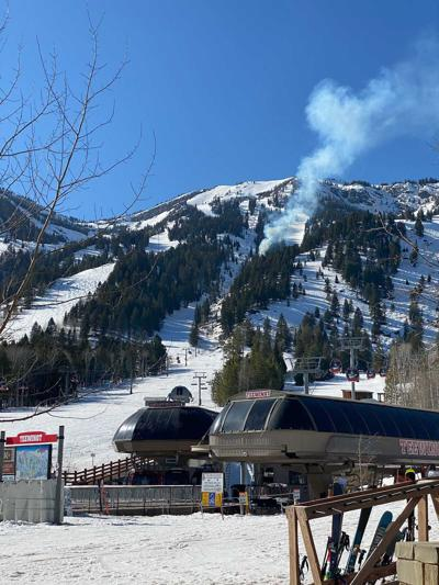 Fire at Jackson Hole Mountain Resort