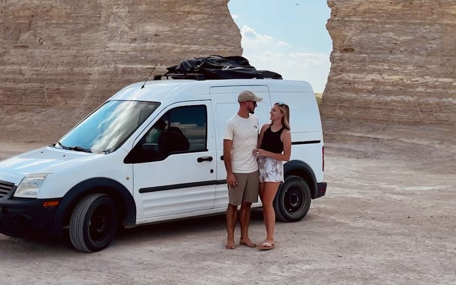 """Gabby Petito and her fiance shared images of their """"van life"""" on YouTube"""
