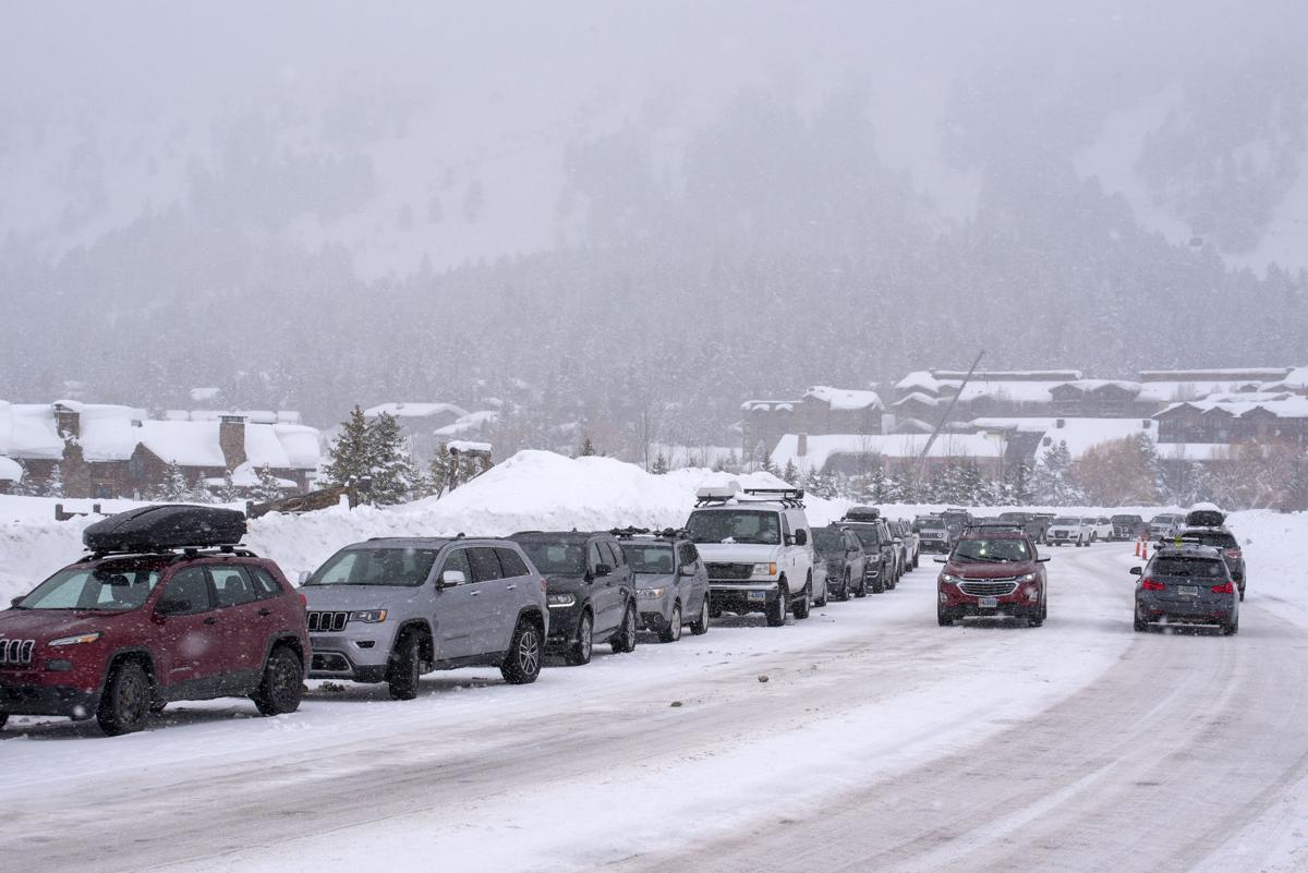 Teton Village parking